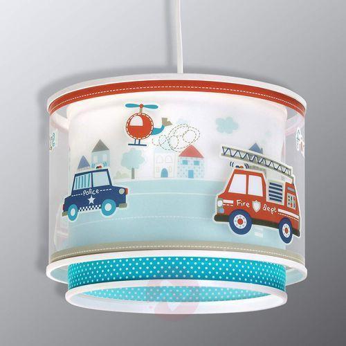 Klik 60612 - dziecięca lampa wisząca police 1xe27/60w/230v marki Dalber
