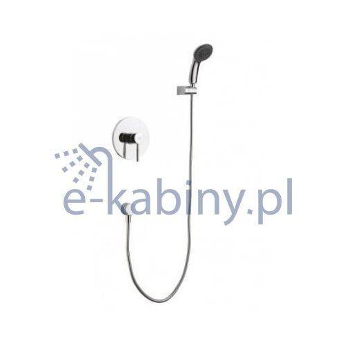 Bateria Blue Water Zestaw blue water den-zkp.300c prysznicowy podtynkowy DEN-ZKP.300C