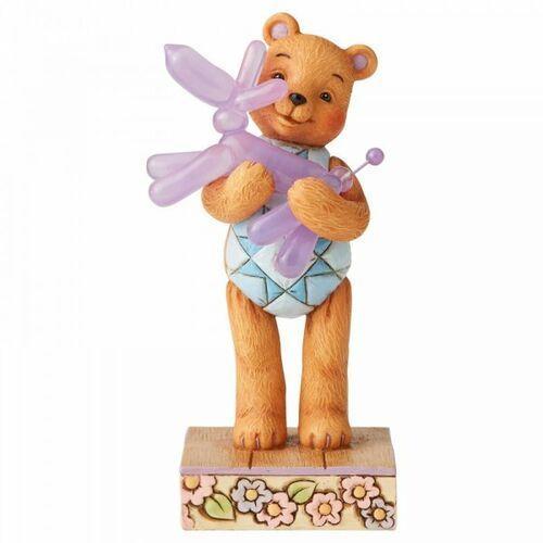 Jim shore Miś i pies balonik - przyjaźń to najlepsze co nam się przytrafia bear hugs (button hugging squeaky) 6005128