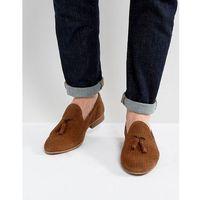 harry suede tassel loafers in tan - tan marki Walk london