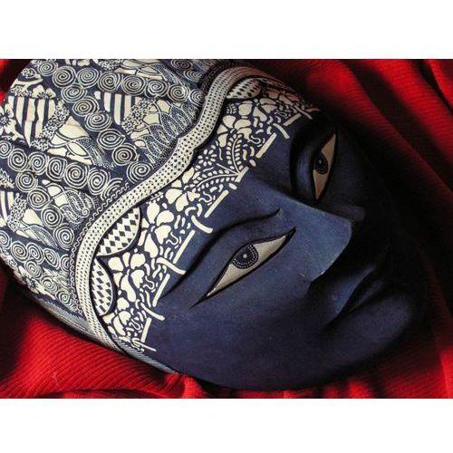 Wyspa java Ezoteryczny prezent rzeźba maska władcy lasu