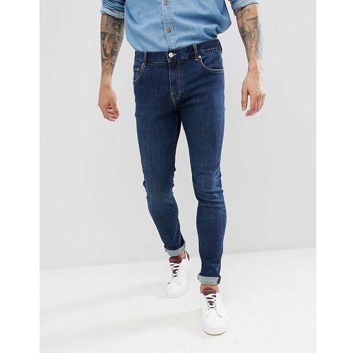 Weekday Form Super Skinny Jeans Sun - Blue