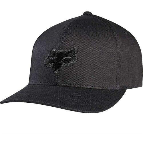 czapka z daszkiem FOX - Legacy Flexfit Hat Blk/Blk (021) rozmiar: L/XL
