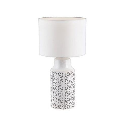 4308 - lampa stołowa agnes 1xe27/60w/230v szary marki Rabalux