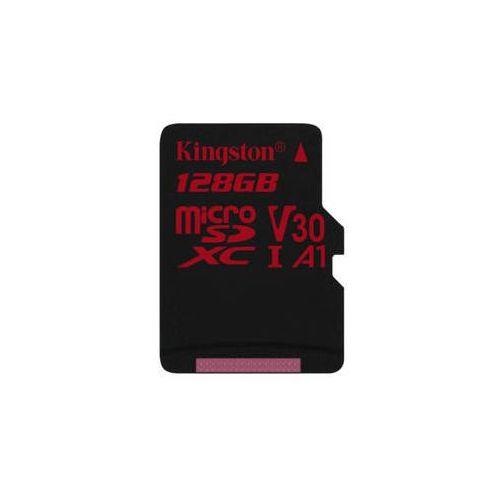 Karta pamięci Kingston Canvas React microSDXC 128GB UHS-I U3 (100R/80W) (SDCR/128GBSP)