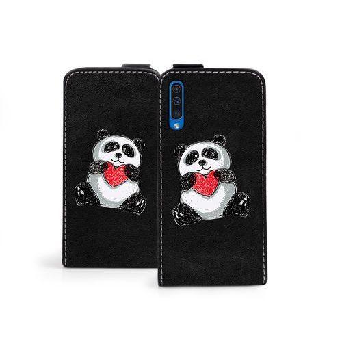 Samsung Galaxy A50 - etui na telefon Flip Fantastic - panda, ETSM888FLFCEF018000
