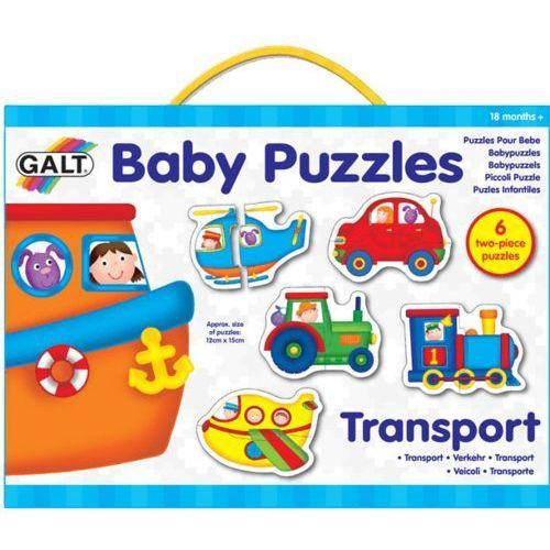 GALT Puzzle dla najmłodszych – środki transportu 2, kup u jednego z partnerów