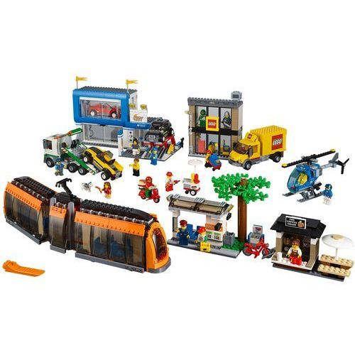 60097 PLAC MIEJSKI City Square KLOCKI LEGO CITY. Najniższe ceny, najlepsze promocje w sklepach, opinie.