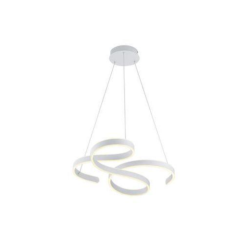 Trio Francis 371310131 lampa wisząca zwis 1x52W LED 3000K biały mat