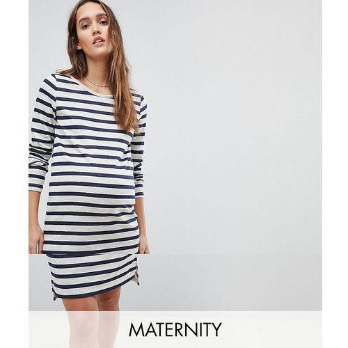 Mamalicious stripe jersey dress - multi, Mama.licious, 36-38