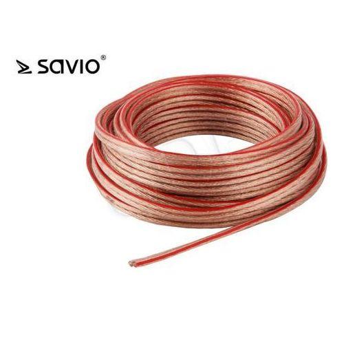 Kabel Savio CLS-03 ( 10m linka głośnikowy )- wysyłamy do 18:30 (5901986042952)