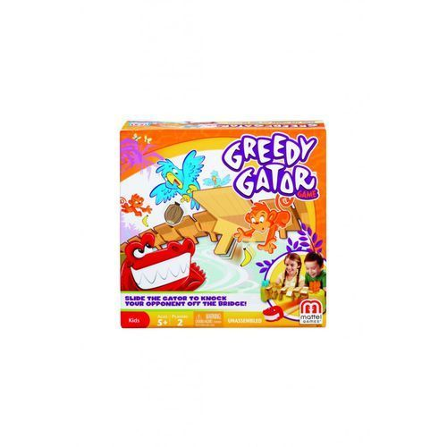 Mattel Gra głodny aligator x8733