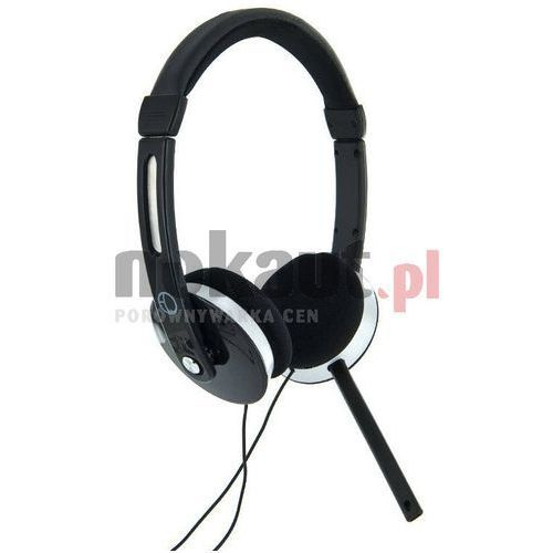 4World Audio/PC (słuchawki z mikrofonem)