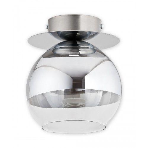Lemir Colours O2541 P1 CH Plafon spot oprawa sufitowa 1x60W E27 chrom/transparentny, kolor Transparentny