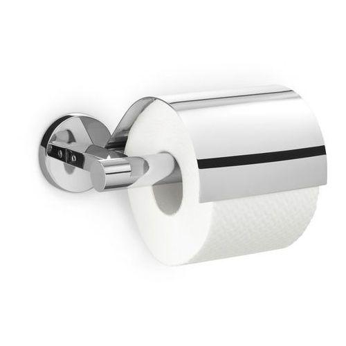 - uchwyt na papier toaletowy z pokrywą scala - stal nierdzewna polerowana marki Zack
