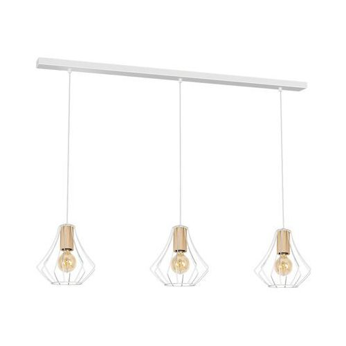 Lampa wisząca WILL WHITE 3xE27 MLP4182 - Milagro - Sprawdź kupon rabatowy w koszyku, MLP 4182