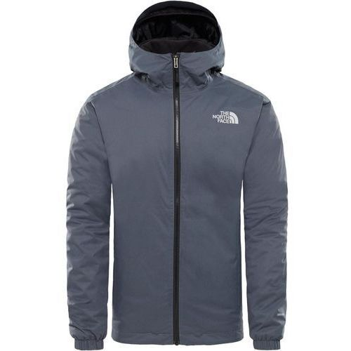 The north face men's quest insulated jacket vanadis grey black heather xl