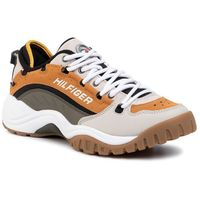 Sneakersy TOMMY JEANS - Heritage Sneaker EM0EM00374 Sugan Brown/Pumice Stone/Dusty 0HG