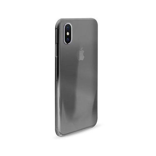 0.3 nude - etui iphone x (czarny przezroczysty) marki Puro