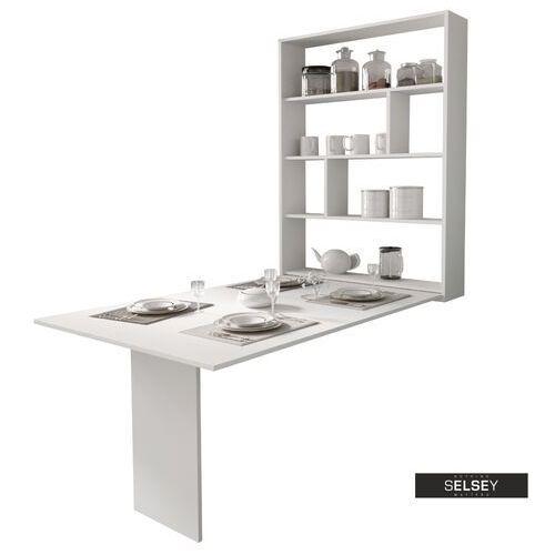 SELSEY Stół rozkładany Espigo 130x80 cm biały (5903025435336)
