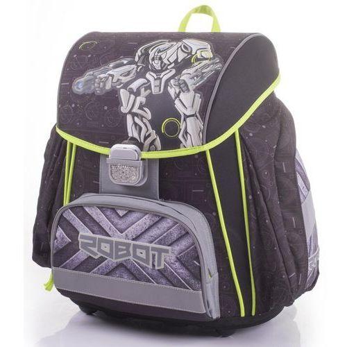 Karton P+P plecak szkolny Premium Robot (8595096770347)