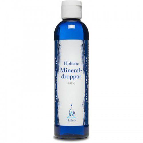 Holistic Mineral-droppar oczyszczona woda z Wielkiego Jeziora Słonego 240 ml