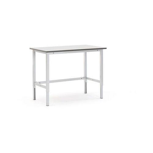 Aj produkty Stół roboczy motion, z ręczną regulacją wysokości, 400 kg, 1200x600 mm, szary
