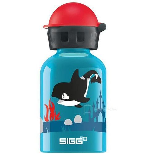 kids butelka / bidon 0.3l dla dzieci / orca family - orca family marki Sigg