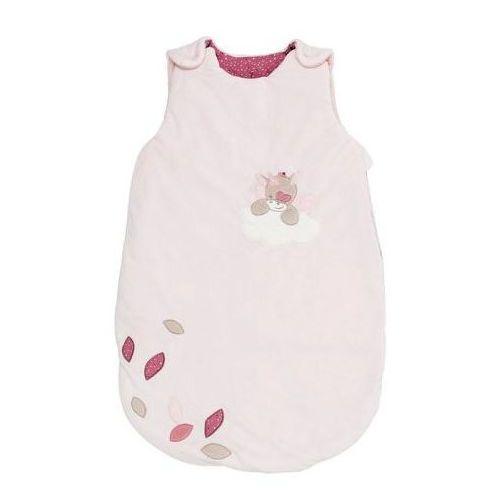 Nattou śpiwór 70 cm Pink NJL, kolor różowy