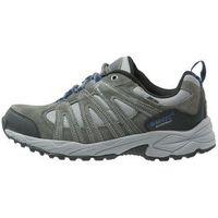 HiTec ALTO II WP Obuwie hikingowe charcoal/cobalt, kolor szary