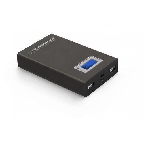 "Power bank Esperanza 8400mAh ""Kinetic"" czarny"