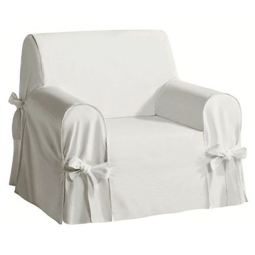 Pokrowiec na fotel len/bawełna, jimi marki La redoute interieurs