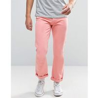 Tommy Jeans 90S Straight Fit Jeans M17 in Pink - Pink, proste