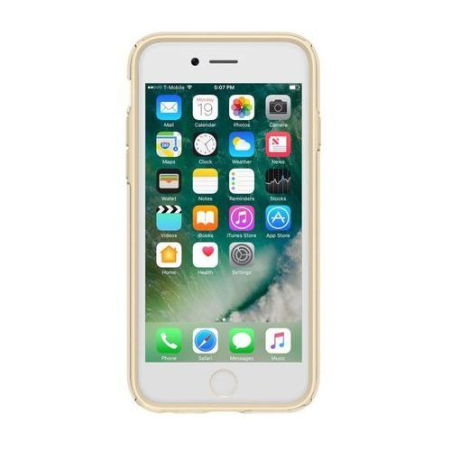 Speck Presidio Show - Etui iPhone 7 / iPhone 6s / iPhone 6 (Clear/Pale Yellow Gold), 88203-6243