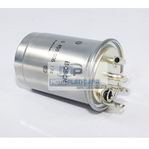 Filtr paliwa - BOSCH - 0 450 906 174 (0450906174) - DESTA / FORD / SEAT / SKODA / VW, kup u jednego z partnerów