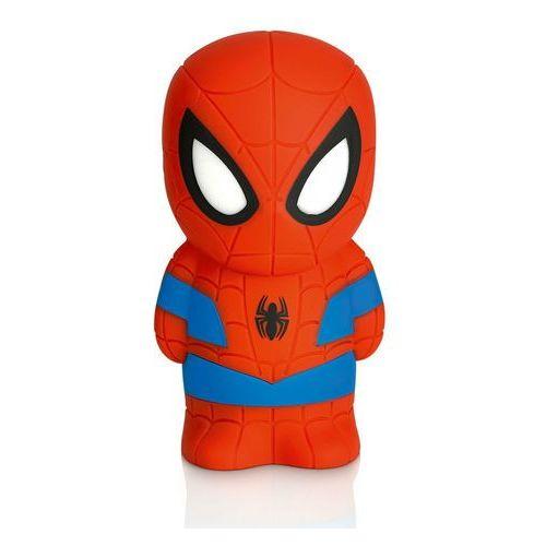 DISNEY - Lampka nocna na baterie Softpal LED Spiderman 12,5cm - produkt z kategorii- Oświetlenie dla dzieci