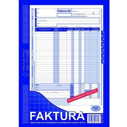 Michalczyk i prokop Faktura vat a4 netto oryginał + kopia (101-1e)
