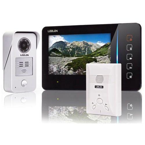 Leelen technology Wideodomofon - 7cali n60/no15nc_f7+3xbrelok (z czytnikiem)