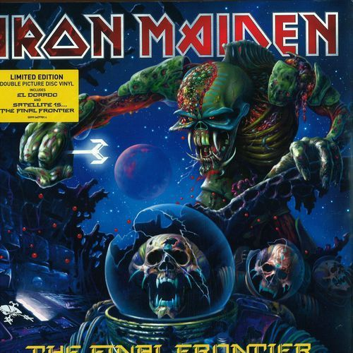 The Final Frontier (Special Limited Edition) - Iron Maiden (Płyta CD) (5099964777122)