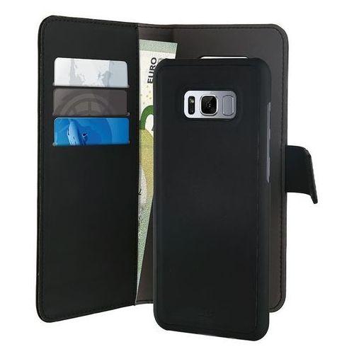 Puro Etui wallet detachable 2w1 do samsung galaxy s8 czarny (8033830184963)