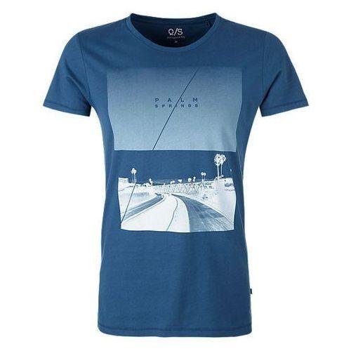 Q/S designed by T-shirt męski XXL, niebieski