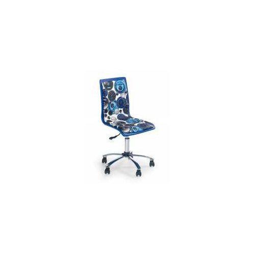 Fotel fun 8 biało-niebieski - zadzwoń i złap rabat do -10%! telefon: 601-892-200 marki Halmar