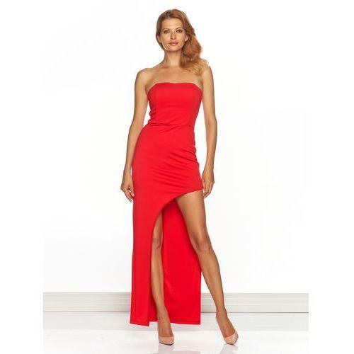 Sukienka Carina w kolorze czerwonym
