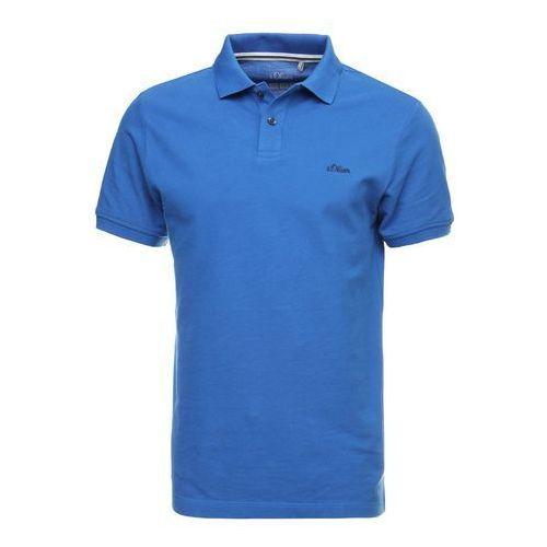 koszulka polo męska xxl niebieski marki S.oliver