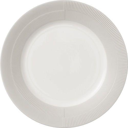 Talerz porcelanowy duet 23 cm, szary - marki Rosendahl