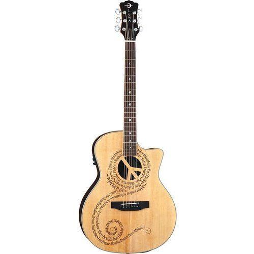 Luna  oracle grand concert peace gitara elektroakustyczna