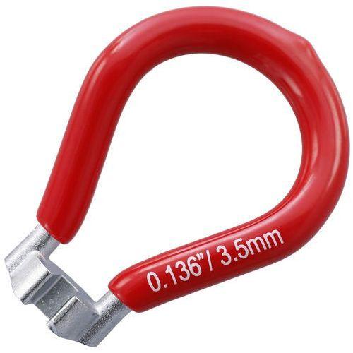 Red Cycling Products Klucz do szprych Narzędzie do roweru 3,5mm czerwony 2018 Narzędzia