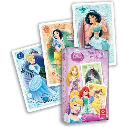 Karty Czarny Piotruś + Memo Disney Księżniczki Cartamundi, 129251