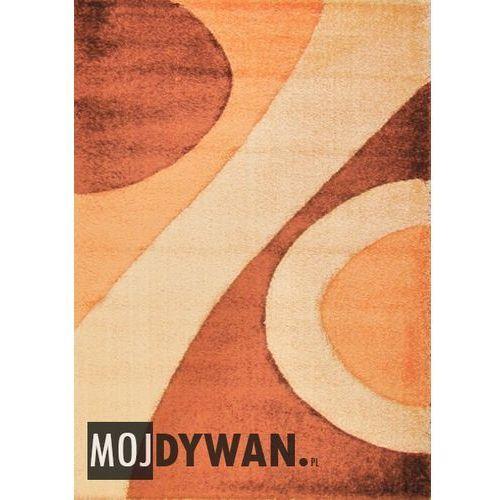 Dywan Top Carving Cool łososiowy/żółty 120x170 prostokąt - produkt z kategorii- Dywany