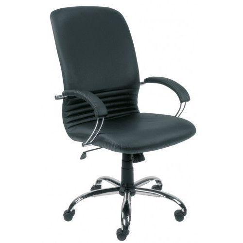 Fotel gabinetowy mirage steel02 chrome - biurowy, krzesło obrotowe, biurowe marki Nowy styl